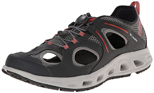 Columbia Men's Supervent Trail Shoe,Grill/Spicy,9 D US