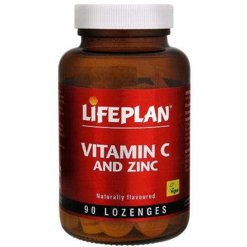 Lifeplan Vitamin C and Zinc 90 Lozenges
