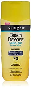 Neutrogena Beach Defense Sunscreen Lotion with Broad Spectrum