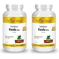 Natures Velvet Combo Of Karela Pure Extract (500 Mg), 60 Veggie Capsule(s)