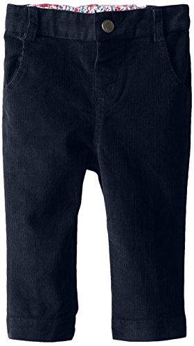JoJo Maman Bebe Baby Girls' Cord Slim Fit Jeans, Navy, 18 24 Months
