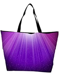 Snoogg Purple Background Designer Waterproof Bag Made Of High Strength Nylon - B01I1KMCV0