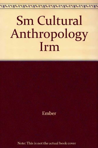 Cultural Anthropology/Anthropological Methods