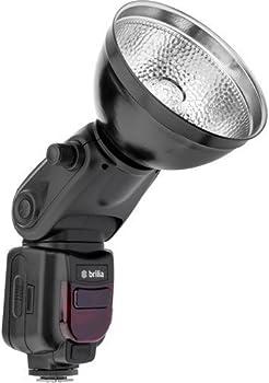 Brilia BB-110C Bare-Bulb TTL Flash for Canon Cameras