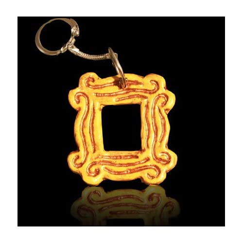 Amazon.com: Monica's Peephole Frame from Friends TV show Keychain