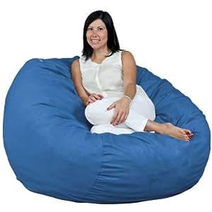 bean bag chair color sky blue kitchen home. Black Bedroom Furniture Sets. Home Design Ideas