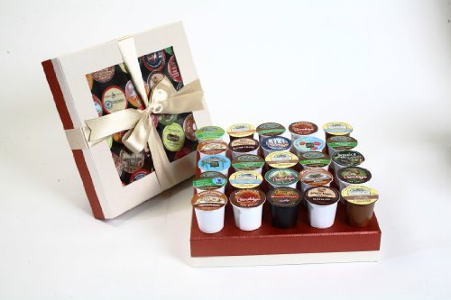 Swerseys Chocolate K-Cup Flavored Coffee Sampler (#16), 12.5-Ounce Gourmet Gift Box