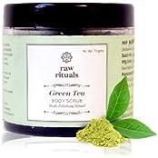 Green Tea And Dead Sea Salt Body Scrub
