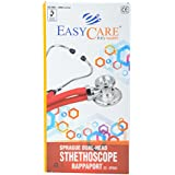 Easycare Sprague Brass Dual-Head Stethoscope Rappaport (Black)