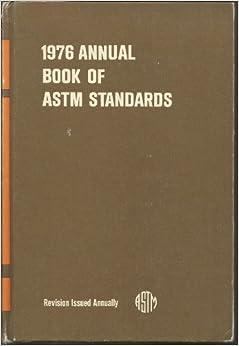 List of ASTM International standards