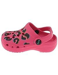 Capelli New York Toddler Girls Pop Leopard Printed Clog