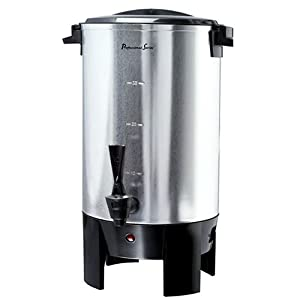 Amazon.com | Continental Electric CP43699 30-Cup Stainless Steel
