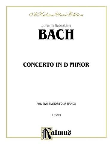 Piano Concerto in D Minor (Kalmus Edition)