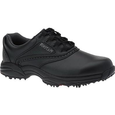 s footjoy greenjoys golf shoes black size