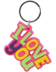 Mumbai Mad ABC_13 Multi-Color Key Chain