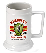 Personalized 16 oz. Longdrive Beer Stein (Set of 32)