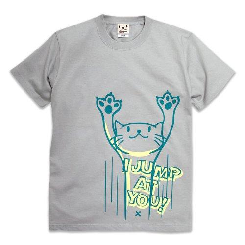 SCOPY(スコーピー) Tシャツ JUMP シルバーグレー S