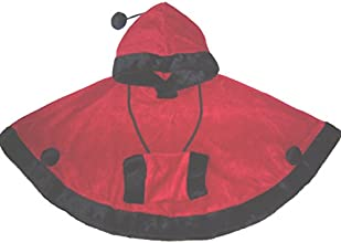 JJ Coolwear Girls Red Riding HoodFree Muff Outerwear Size2T-7 Christmas Red