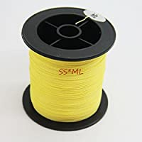 PE FISHING LINE 100M STRONG DYNEEMA SPECTRA YELLOW BRAID BRAIDED SPECTRA