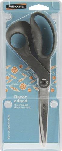 Fiskars 94467097J Premier Bent Razor Edge Shears, 9-Inch
