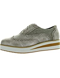 Not Rated Womens Walk To Moon Wedge Platform Oxford Shoes