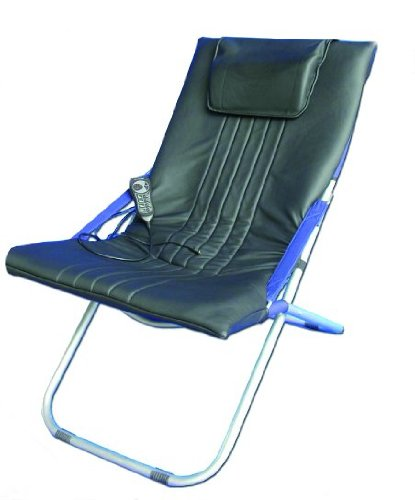 DELUXE MASSAGE CUSHION CHAIR Medicarn Select Therapy C100 Portable massage chair with Heat (AS SEEN ON TV)