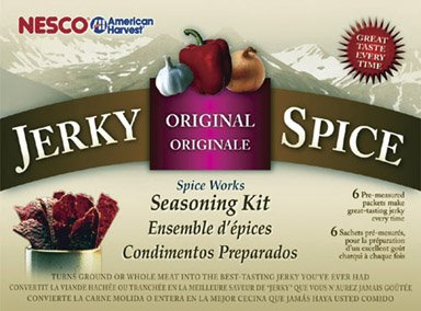 Nesco BJ-6 Jerky Spice Works, 6-Pack, Original Flavor