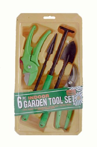 Master Craft GA1015 6-Piece Indoor Garden Tool Set