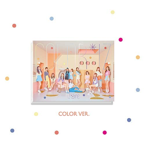 CD : Iz*one - Color*iz (Version Color) PhotoBook   PhotoCard
