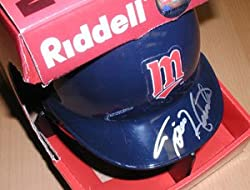Torii Hunter Blue Twins Riddell Replica Mini Helmet