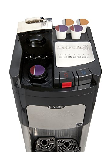Coffee Maker & Water Cooler K Cup Compatible : Viva Coffee Maker & Water Cooler, K-Cup Compatible, a True - Import It All