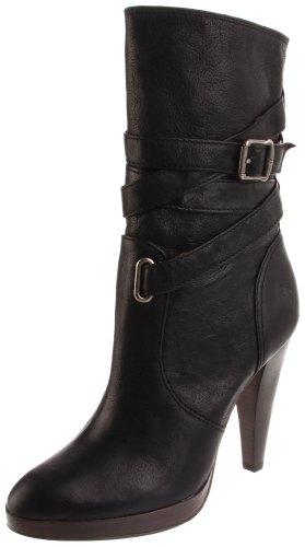 FRYE Women's Harlow Multi-Strap Boot,Black,8.5 M US