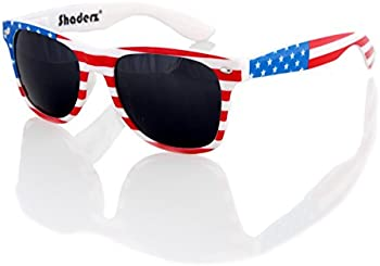 Shaderz Retro 80's Classic Sunglasses
