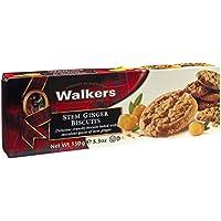 Walkers Shortbread Stem Ginger Biscuits
