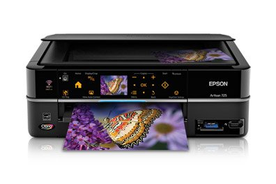 Epson Artisan 725 Color Inkjet All-In-One Printer (C11CA74201)