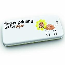 Finger Printing Art Set Safari