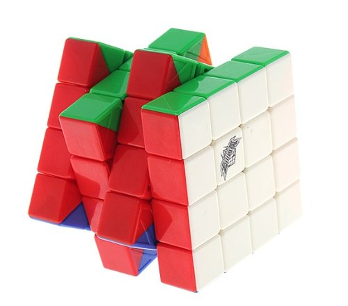 Amazon.com : Cyclone Boys 4x4 FeiYue Stickerless Speed Cube