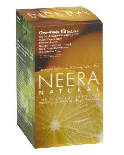Neera Natural One Week Pack, the Improved Stanley Burroughs Master Cleanser Diet Kit