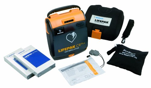 Physio Control LifePak CR Plus Fully Automatic Defibrillator with AED Training Course