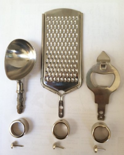 Project Variety Pack - Bottle Opener, Grater & Ice Cream Scoop (Woodturning Kit)