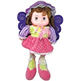 Tickles Multi Cute Fairy Doll Stuffed Soft Plush Toy Love Girl 40 Cm