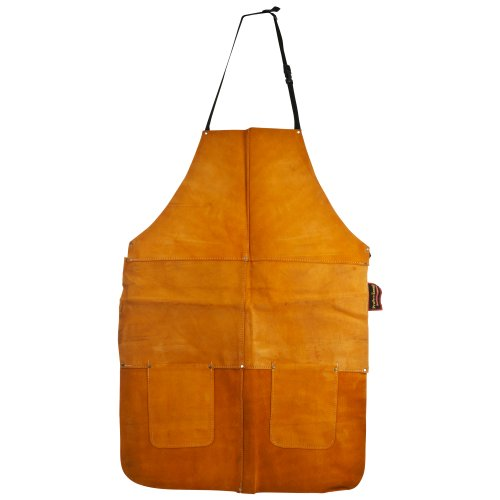 Stalwart 75-AL001 Leather Apron, Large