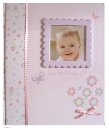 C.R. Gibson Keepsake Memory Book of Baby's First Year, Little Bloom