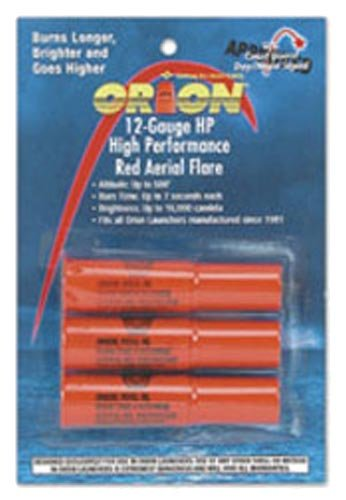 Orion Safety Orion Safety Areial Flare Refill, Red (4 Pack)