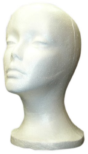 SHANY Cosmetics Female Styrofoam Head, 12 Inches, 4 Ounce