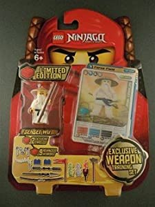 LEGO Ninjago Limited Edition Set #4623546 Sensei Wu Includes 9 Exclusive Weapons Training Set! at Sears.com