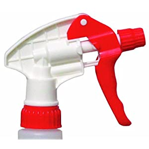 "CONTINENTAL COMMERCIAL PRODUCTS Continental 902RW7, Red/White Spray-Pro Trigger Sprayer, 8-1/4"" Dip Tube (Case of 200) at Sears.com"