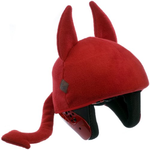 Tail Wags Helmet Cover in Adult Size - Little Devil