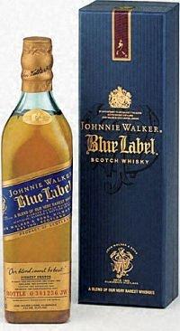 Johnnie Walker Scotch Blue Label 200ML