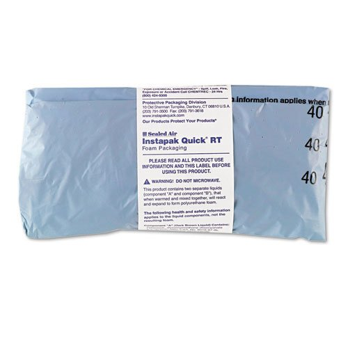 Sealed Air Products - Sealed Air - Instapak Quick RT Packaging Bags, 18 x 24, 30 Bags/Carton - Sold As 1 Carton - Innovative two-part foam packaging. - No equipment required. - Convenient Instapak Quick system. - Eliminates messy loose fill. -
